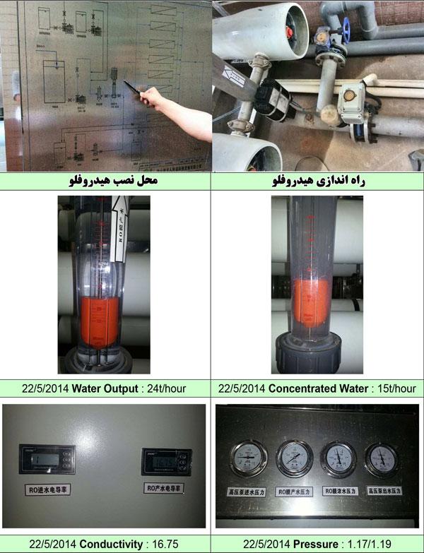 رسوبزدایی آب شیرین کن صنعتی ro با استفاده از رسوب زدا ی هیدروفلو