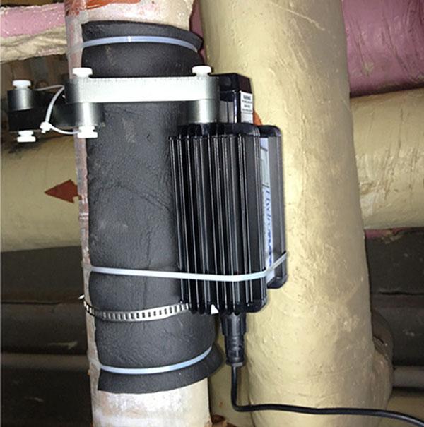 رسوبزدا ، پروژه نیروگاه قم - شرکت رادین گسترسینا