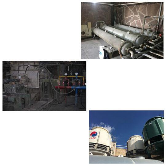 نصب رسوبزدای هیدروفلو در برج خنک کننده صنایع شمال